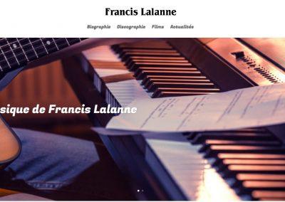 Sites web – Francis Lalanne